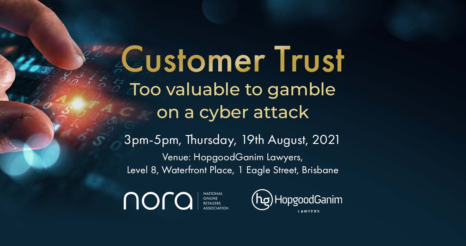 HopgoodGanim Lawyers - Customer trust: Too valuable to gamble on a cyber attack