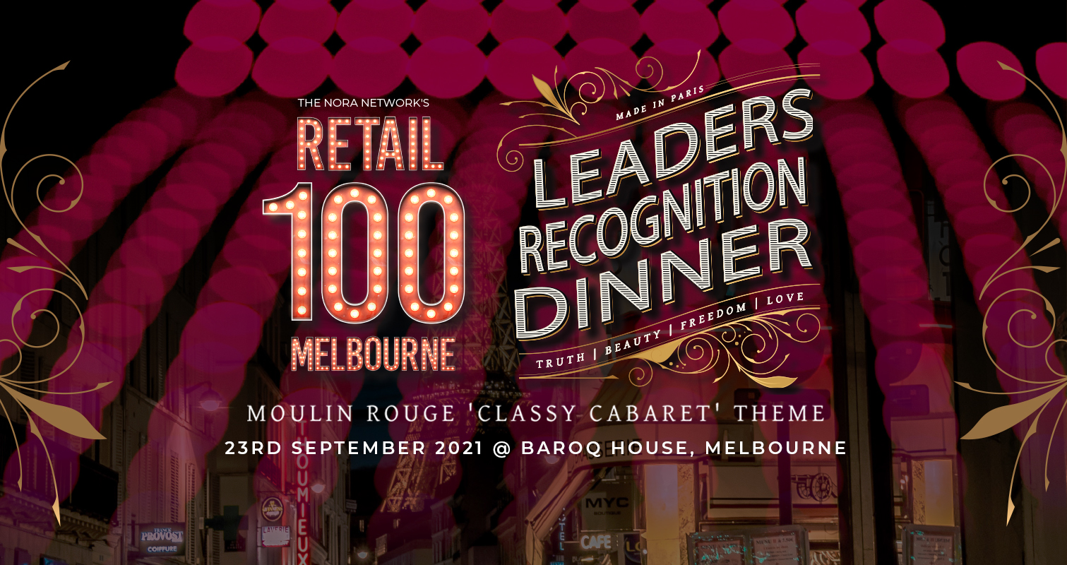 NORA 100: Recognised Retail Leaders (Melbourne)